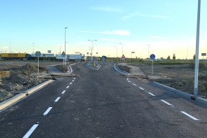 LogistiekPark A12 aangesloten op provinciale weg