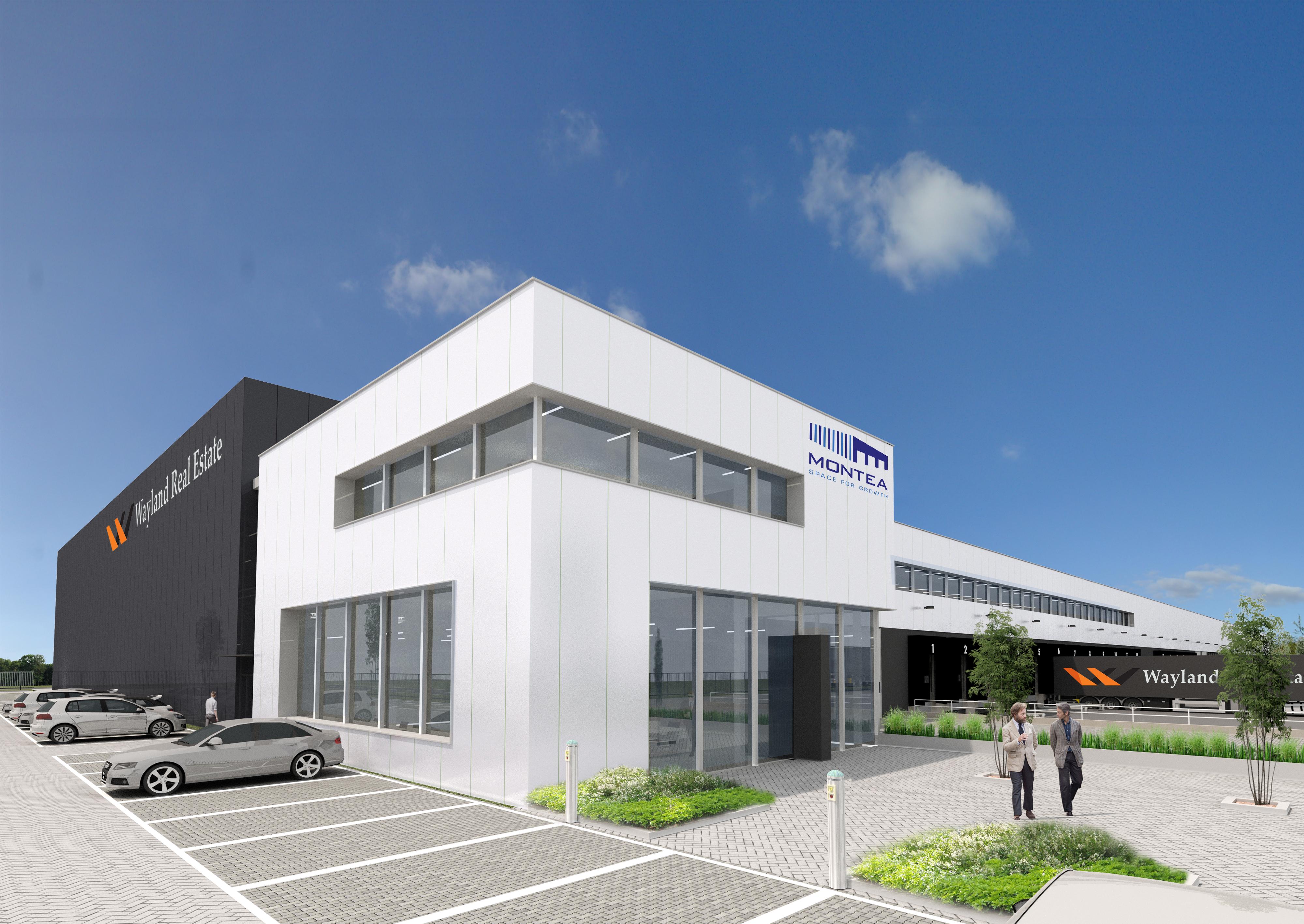 Wayland real estate en montea tekenen samenwerkingsovereenkomst logistiekpark a12 - Corridor ontwikkeling ...